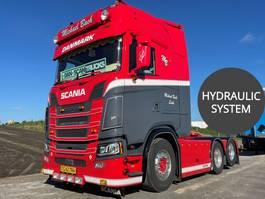standaard trekker Scania S580 V8 Custom Truck Special interior Hydr. System full Air / Air suspension 2020