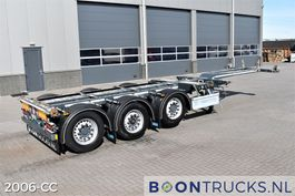 container chassis oplegger D-TEC FLEXITRAILER   2x20-30-40-45ft HC * SAF/DISC  * APK 06-2022 2018
