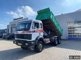 kipper vrachtwagen Mercedes-Benz 2635 AK Day Cab, Euro 1, // Manual gearbox //Full steel // Big Axles // ... 1992