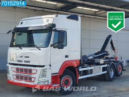 containersysteem vrachtwagen Volvo FM 450 6X2 Manual Liftachse Euro 6 2015