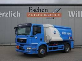 tankwagen vrachtwagen MAN TGM 18 BL, Esterer Aufbau, EEV 2010