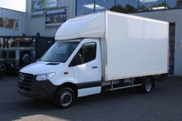 gesloten bestelwagen Mercedes-Benz 516 CDI L3 bakwagen met klep Dhollandia laadklep, MBUX, Camera, Geveerde... 2020