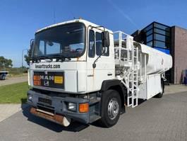 tankwagen vrachtwagen MAN 19.272 Fuel Tank / 21.300 L / Full steel / Ex Airport /  121.000 KM 1995