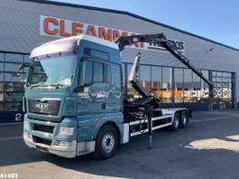 containersysteem vrachtwagen MAN 28.440 Penz 10 ton/meter Z-kraan 2010