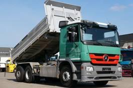 kipper vrachtwagen Mercedes-Benz Actros 2544 Wechsellader Kipper Sattelzug Retard 2011
