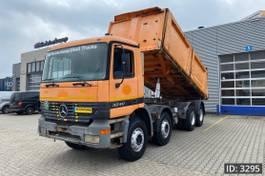 kipper vrachtwagen Mercedes-Benz Actros 3240 Day Cab, Euro 2, // Manual gearbox // Full steel // Big Axles // Hub red... 2003