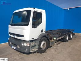 chassis cabine vrachtwagen Renault Premium 320 6x2, Manual, Telma 2001