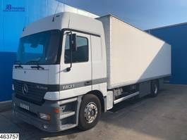 bakwagen vrachtwagen Mercedes-Benz Actros 1831 EURO 2, Steel suspension, Telligent, 3 Pedals 2000