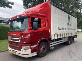 schuifzeil vrachtwagen Scania P280 B 6x2*4 Higi Line 2010