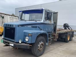 chassis cabine vrachtwagen Scania T140 Scani 6x2 140 torpedo boogie
