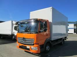 gesloten bestelwagen Mercedes-Benz Atego 818 IV L Koffer 5,10 m LBW 1 to.*SEITENTÜR 2016