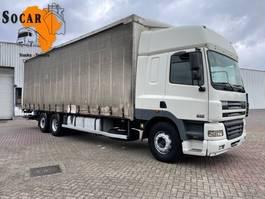 huifzeil vrachtwagen DAF CF 85 MANUAL 6X2 euro 3 2001