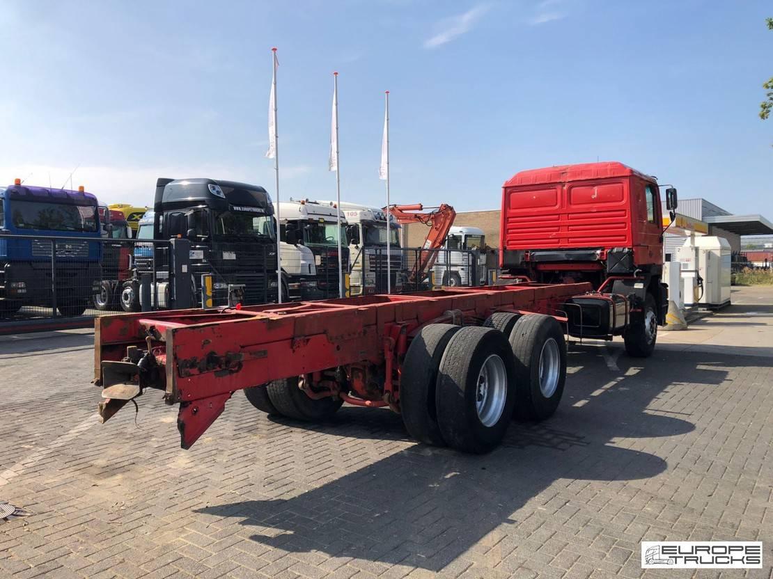 chassis cabine vrachtwagen MAN 25.372 Manual - Full steel - NL Truck - ZF 1995
