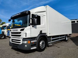 bakwagen vrachtwagen Scania P230 Halveslaapcabine CP16 4x2 Euro 5 - BAK 8.38m - Roldeur - Laadklep 1500kg... 2013