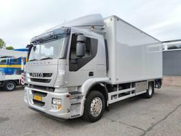 koelwagen vrachtwagen Iveco Stralis 190 AT190S33/P 4x2 Euro 5 - Chereau Koel/Vries 6.43m - Aerocool - 1500kg Laa... 2012