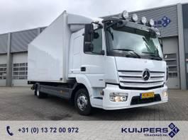 bakwagen vrachtwagen Mercedes-Benz Atego 818 / Maut Frei ! / Webasto / 535 dkm / Box 6 mtr / Laadlift 1000 kg 2015