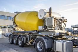 betonmixer oplegger MOL CIFA BETON MIXER-12M3-3 ESS./AXLES/ASSEN+Hulpmotor/Moteur aux. 2010