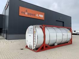 tankcontainer Van Hool El. heating, 20FT, swapbody TC 30.856L, L4BN, IMO-4, valid insp./CSC: 03/22 2000