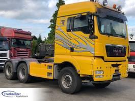 standaard trekker MAN TGX 26 6x4 Big axles, Hydraulic, Truckcenter Apeldoorn 2012
