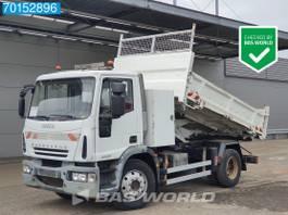 kipper vrachtwagen Iveco EuroCargo 140 140E220 4X2 Manual Steelsuspension 2-Seiten Euro 4 2009