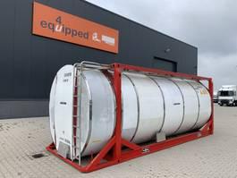 tankcontainer Van Hool El. heating, 20FT, swapbody TC 30.856L, L4BN, IMO-4, valid insp./CSC: 04/22 2000