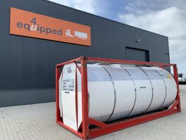 tankcontainer Van Hool 25.000L, 20FT, IMO-1, T7, L4BN, valid 5y/CSC: 02/2024 1999