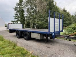 platte aanhanger vrachtwagen Van Holten VHA 10-10 2007