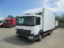 bakwagen vrachtwagen Mercedes-Benz Atego 818 IV L Koffer 5,20 m LBW 1.500 kg 2017