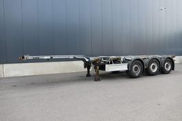 container chassis oplegger D-TEC Flexitrailer 45 ft Container Chassis 2017