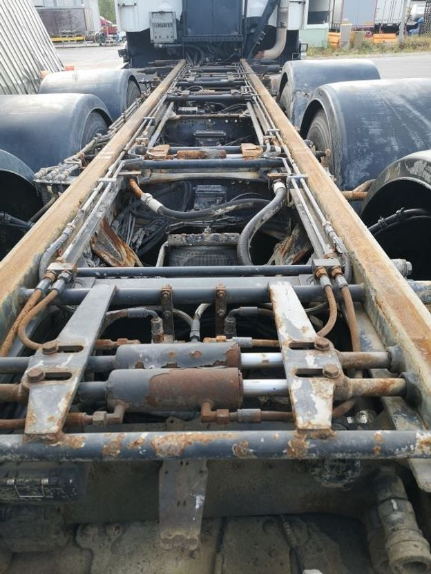 chassis cabine vrachtwagen Scania R480 long chassi 2007