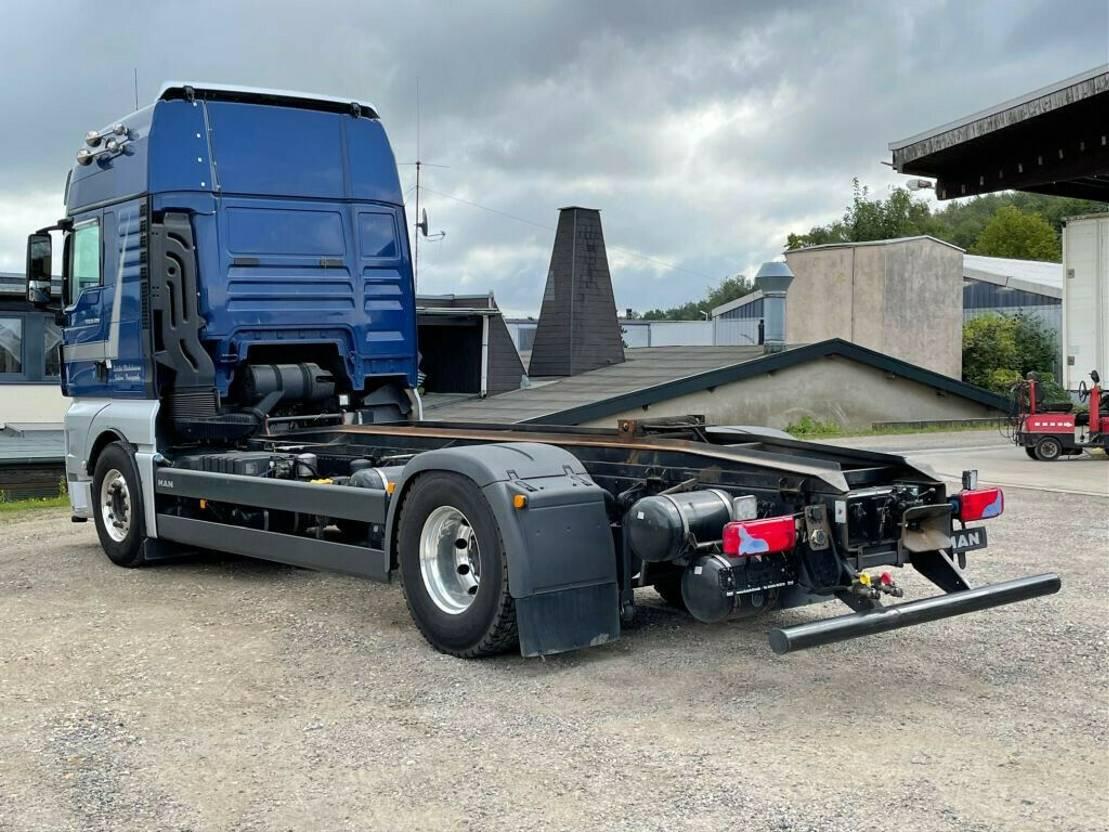 chassis cabine vrachtwagen MAN TGX 18 18.480LL XXL AWL-Fahrgestell 2015