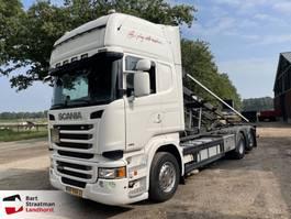 containersysteem vrachtwagen Scania R450 kabelsysteem EURO 6 2013