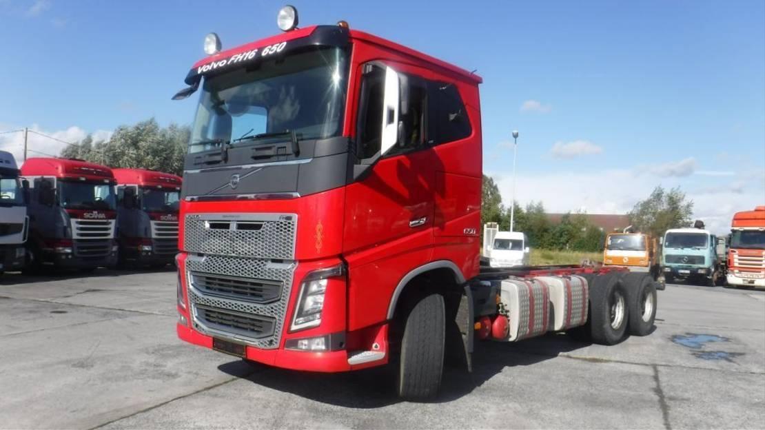chassis cabine vrachtwagen Volvo FH 16 retarder 2016