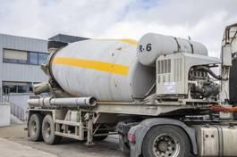 betonmixer oplegger MOL BETON MIXER M1012/20T/37 - 12M2 - HULPMOTOR/MOTEUR AUX. 1999