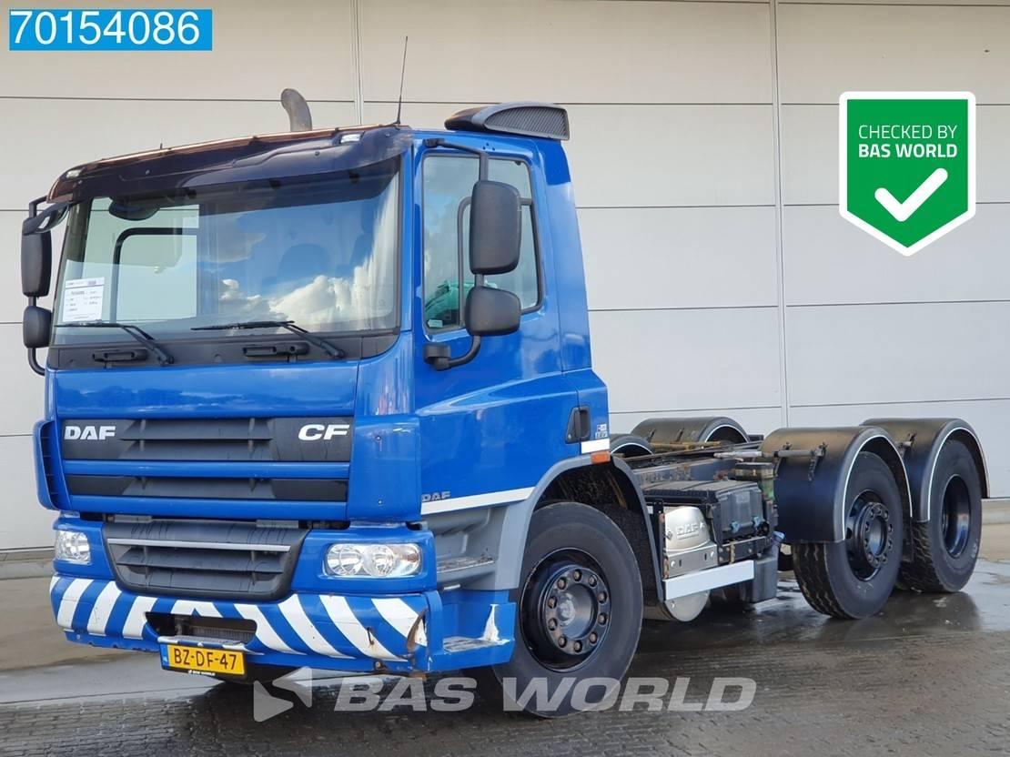 chassis cabine vrachtwagen DAF CF 75 6X2 Lenkachse EEV 2010