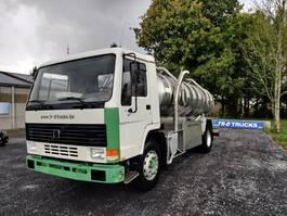 tankwagen vrachtwagen Volvo FL 7 230hp-manual pump-full steel-tank in stainless steel