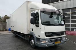 bakwagen vrachtwagen DAF LF45.160 EEV / EURO 5 / CLOSED BOX L 7.00 x B 2.50 x H 2.50 / DHOLLANDIA 2010