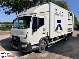 bakwagen vrachtwagen Renault D EURO 6 laadklep en zijdeur 2016
