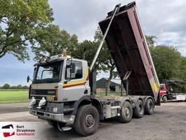 kipper vrachtwagen Ginaf M 4446 TS 8x8 kipper Euro 3 handgeschakeld 2001