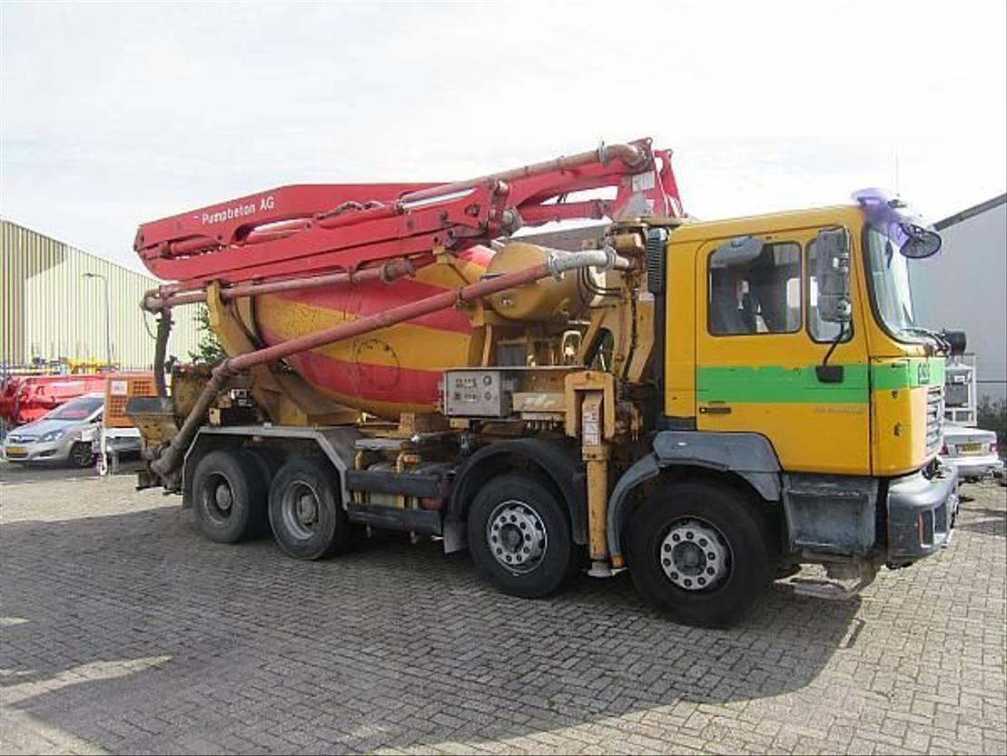 betonpomp vrachtwagen Putzmeister PUTZMEISTER PUMI 21.67 CS - TMM21 2003