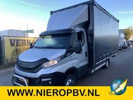 gesloten bestelwagen Iveco daily 35-180 automaat airco zeilenbak 510lang 240hoog 230breed 2018