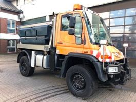 overige vrachtwagens Unimog U500 Typ 405 Schmidt Mitos Streuautomat 2004