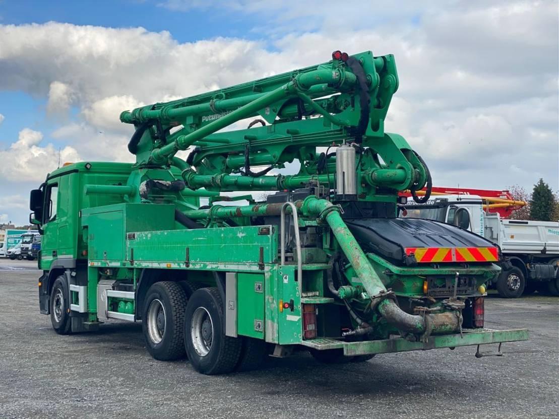 betonpomp vrachtwagen Mercedes-Benz Actros 2632 Putzmeister 24m - BSF24-4.11 HLS - Euro 5 2013