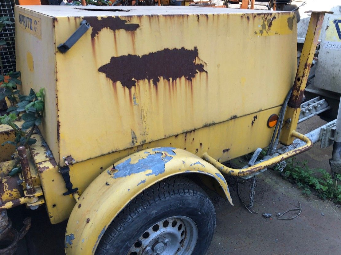 betonpomp vrachtwagen Bunk er Spritz 38DHM 1995