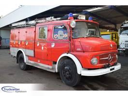 brandweerwagen vrachtwagen Mercedes-Benz 1113 Double cabine, 2400 Liter water 1969