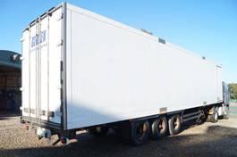 gesloten opbouw oplegger Schmitz Cargobull 3-assige oplegger 2000