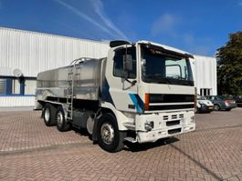 tankwagen vrachtwagen DAF CF 85 WATERTANK /MILK 14000 LITER ! RVS 6X2 MANUAL E2 1998