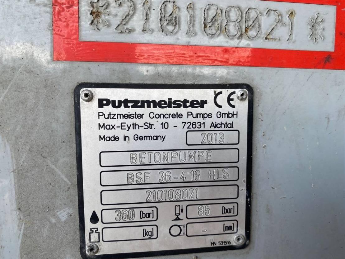 betonpomp vrachtwagen Mercedes-Benz Actros 2644 Putzmeister 36m - BSF36-4.16 HLS - Euro 5 2014