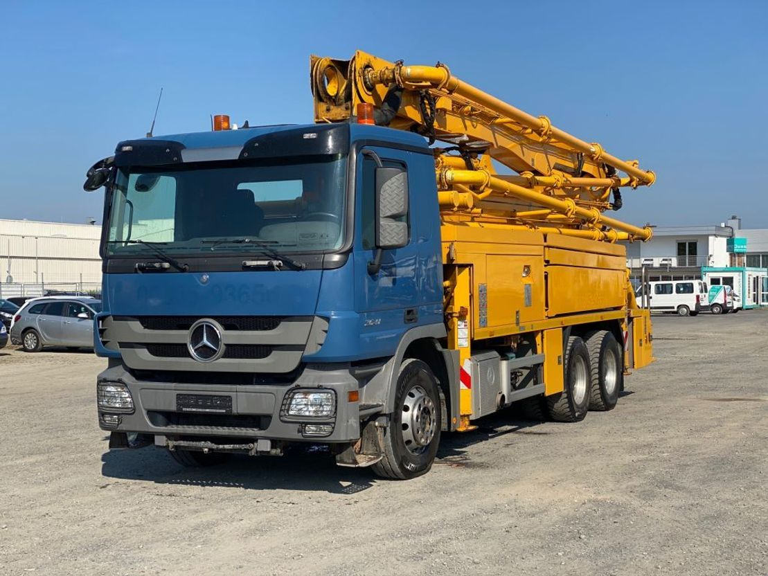betonpomp vrachtwagen Mercedes-Benz 2641 Putzmeister 36m - BSF36.16 HLS - EBC- Euro 5 2012