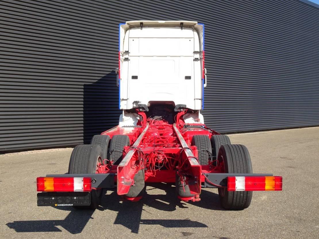 chassis cabine vrachtwagen Scania R490 6x2 / EURO 6 / FULL AIR / RETARDER 2015